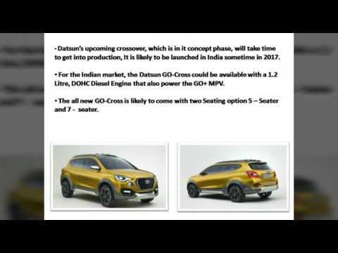 Datsun GO-Cross to be launched by the next year