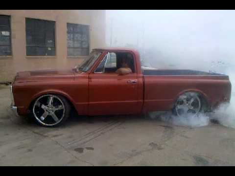 Chevy C10 Bed For Sale 72 chevy c10 burnout - YouTube