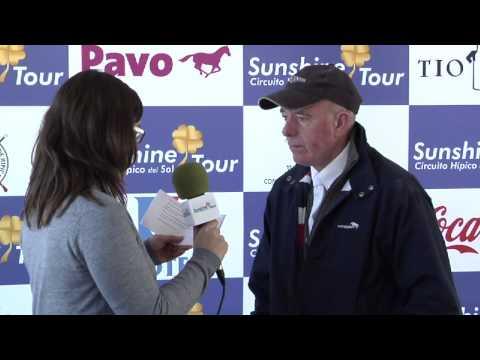 Entrevista John Whitaker. Sunshine Tour. 23/02/2013