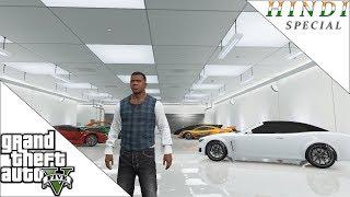 GTA 5 MY HOUSE AND GARAGE TOUR HINDI