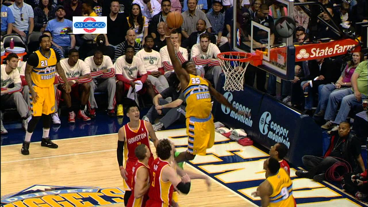 Alley Oop Basketball Alley-oop to Faried