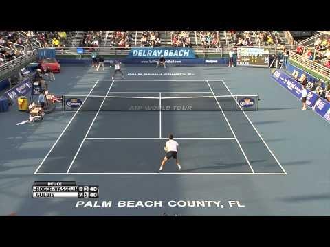 Edouard Roger-Vasselin vs Ernests Gulbis Delray Beach ATP Tennis Open Final [03/03/13]