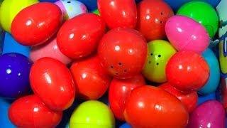 25 Surprise Eggs!!! Disney CARS MARVEL Spider Man SpongeBob HELLO KITTY LiestPetShop ANGRY BIRDS