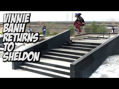 VINNIE BANH RETURNS TO SHELDON !!! - NKA VIDS -