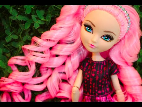 Ever After High & Monster High   HOW TO CURL YOUR DOLLS HAIR!