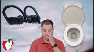 Powerbeats Pro Water Tests: I Dropped Them In The Toilet 💩