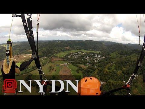 Paragliding in Puerto Rico