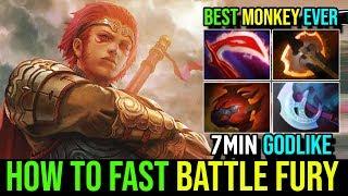 Brutal Savage God Mode 7Min GodLike 11Min Battle Fury Monkey King Best Mk Ever By MC Dota 2 FullGame