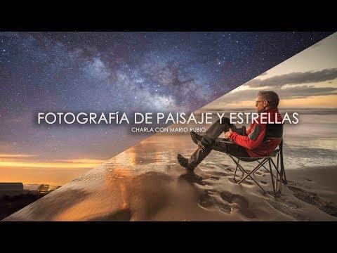 Fotografía De Atardecer Y Estrellas Con Mario Rubio (Charla) | David López