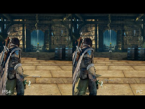 Shadow of Mordor: PS4 vs PC (Ultra Textures/Settings) Comparison