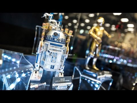 SDCC 2014: Sideshow Collectibles Booth Tour