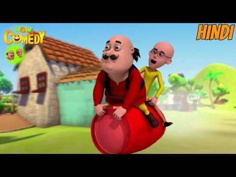 Cylinder Ki Sawaari - Motu Patlu in Hindi - 3D Animated cartoon series for kids thumbnail