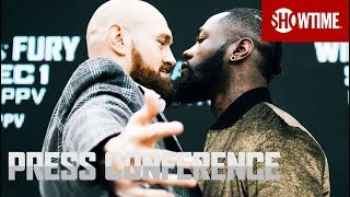 Wilder vs. Fury: New York Press Conference | SHOWTIME PPV