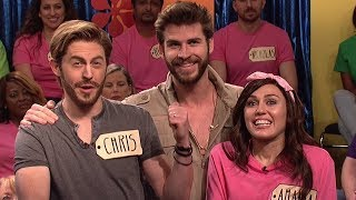 Liam Hemsworth Makes SURPRISE Appearance On SNL With Miley Cyrus