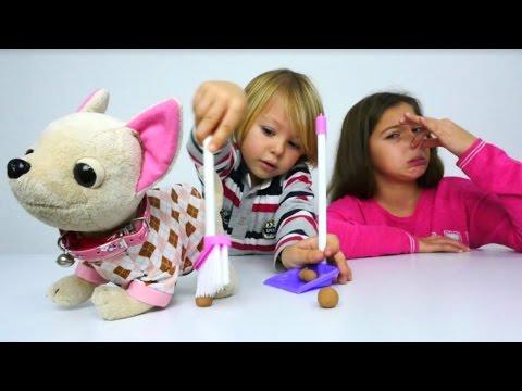 #çocukoyunları. Polen ve Daniel Köpek buluyor. #eğiticivideo