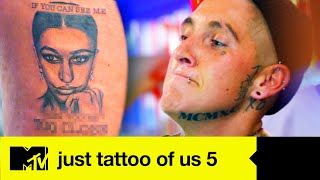 EP #9: Nat Is Proper Fuming After Girlfriend Abbie Marks Her Territory | Just Tattoo Of Us 5
