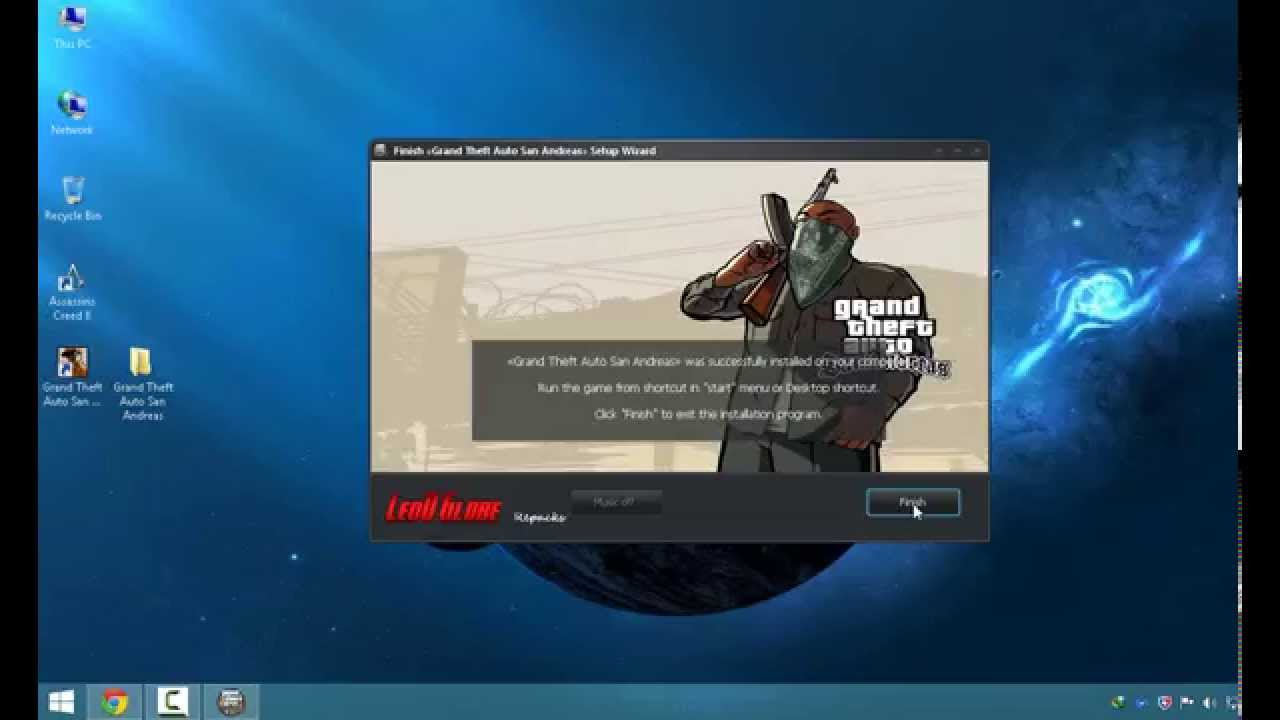 Installer grand theft auto san andreas patch 1 01 french 1