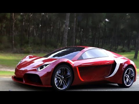 Vega - The Sri Lankan Super Car By Codegen video