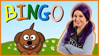 Bingo Song   Bingo Nursery Rhyme Kids Song   B-I-N-G-O on Tea Time with Tayla