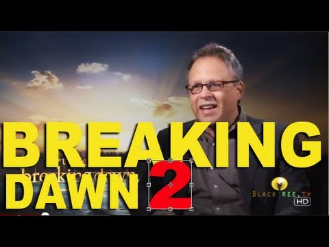 Breaking Dawn Part 2 Director ,  Bill Condon Talks About His Last Scene.