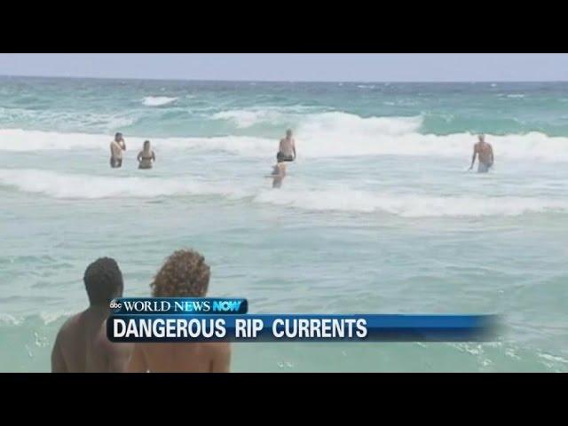 Dangerous Rip Currents Surge Across FL, AL Coast