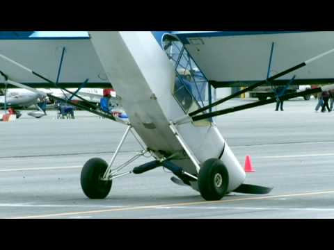 STOL 2009 May Day Fly In High Lights and Crashes