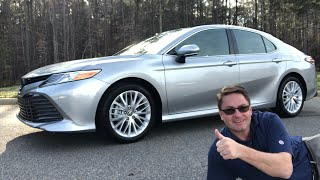 2019 Camry XLE V6 Review: I Love It!