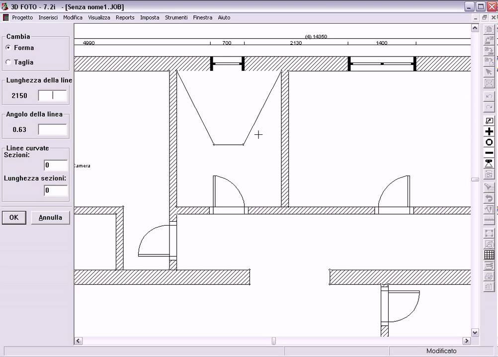 1 multivano disegno pianta parte 1 youtube - Disegno pianta casa ...