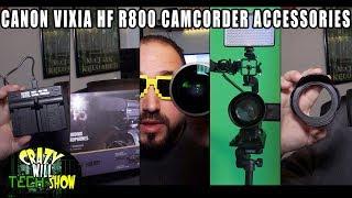 CanonVIXIA HF R800 Camcorder accessories