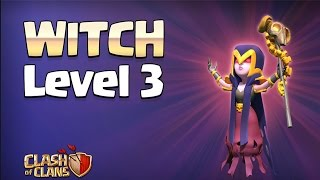 Clash of Clans Update Sneak Peek | Witch Level 3