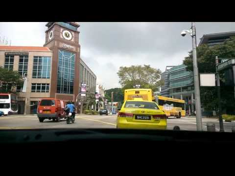 SINGAPORE TAXI DRIVER - 7 Days a week - LIFE IN SINGAPORE