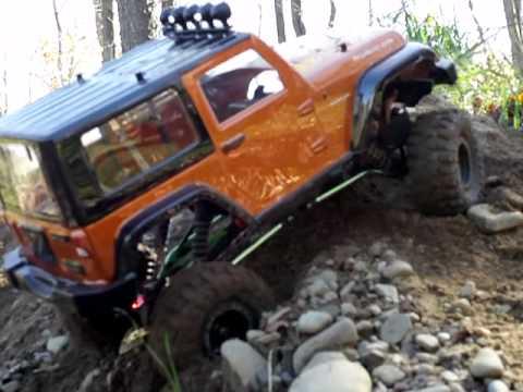 Scale Jeep Wrangler Rubicon 2 2 Youtube