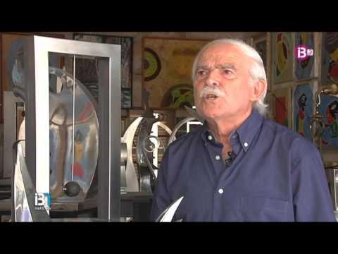 Exposición del escultor mallorquín Joan Cunill en Madrid
