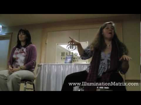 Illumination Matrix Channeling Session - 2012 LA Conscious Life Expo - Wendy and Nora
