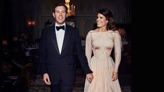 How Princess Eugenie's Reception Dress Broke Royal Protocol