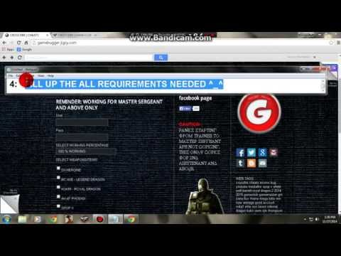 eCoin Hack in Crossfire Philippines 2014