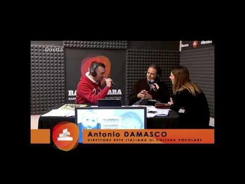 RADIO FOCARA 2015 - Intervista ad Antonio Damasco (Direttore Rete Italiana di Cultura Popolare)