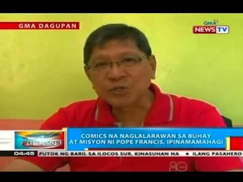 BP: Comics na naglalarawan sa buhay at misyon ni Pope Francis, ipinamamahagi sa Pangasinan