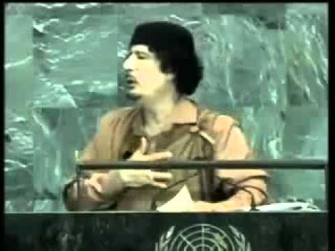 Muammar Gadaffi Speaks Truth To The UN 2009 (NEW Translation)