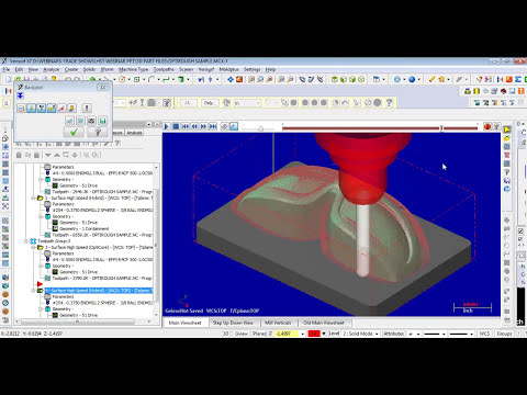 Mastercam X7 High Speed Toolpath Webinar