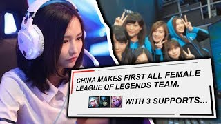 Why Is There No FEMALE PLAYERS In Pro League of Legends?
