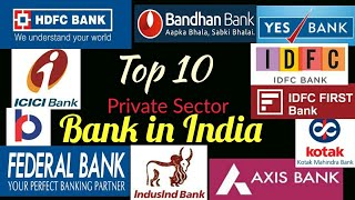 Top 10 Private Sector Bank in India By Market Capital