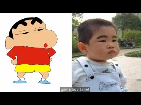 ShinChan Characters In Real Life thumbnail