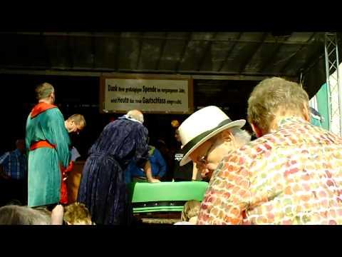 19. Gautschfest am Samstag, 20.08.2011 auf dem Markt in Haltern am See, Kornutin  Anna