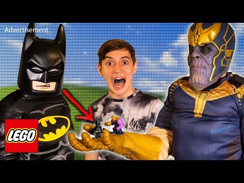 Are YOU a LEGO SuperBuilder?! With LEGO Avengers, LEGO Batman and Ninjago!
