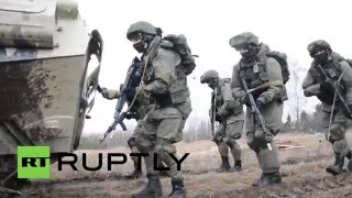 Russia: Drills held utilising new