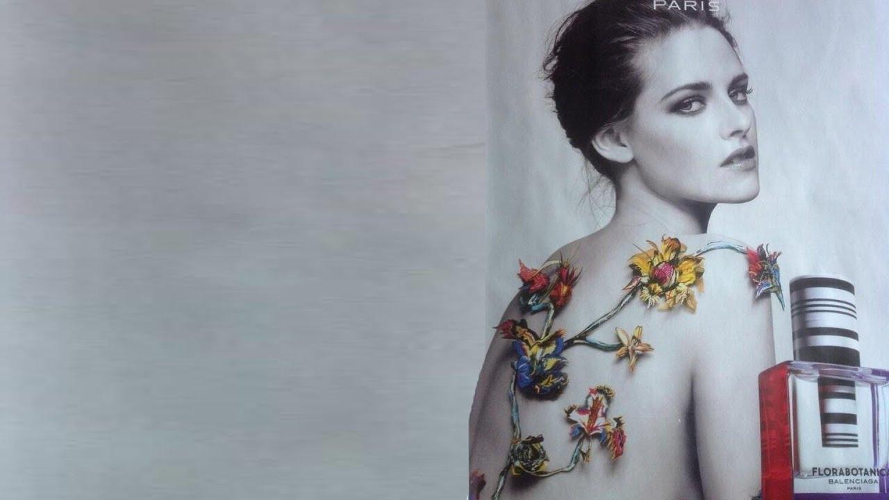 Kristen Stewart New Topless Perfume Ad