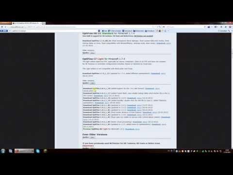 [1.8.8] Minecraft - Install & Download OptiFine - Tutorial [FREE] [GERMAN] [1.8.8]