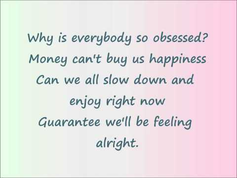 Price Tag - Maddi Jane Lyrics video