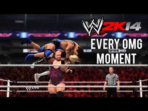 WWE 2K14 - How to perform Every OMG Moment (Spectacular moments Tutorial)